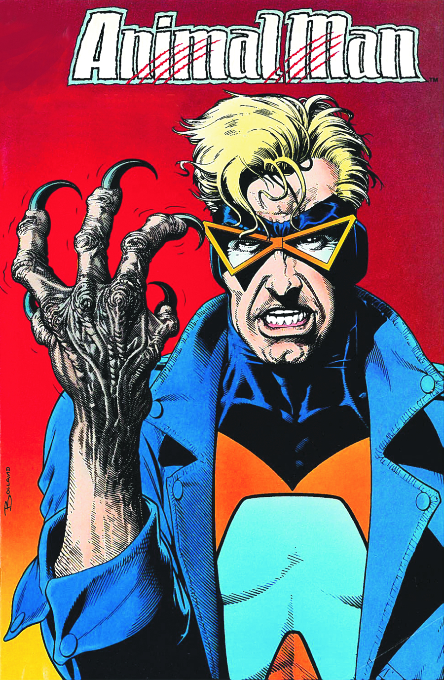 ANIMAL MAN (Vertigo 1988-90) VOL 04 BORN TO BE WILD (MR) TP