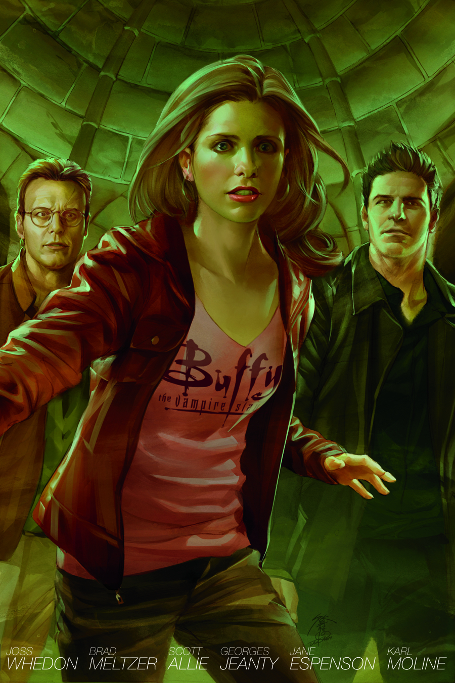 BTVS SEASON 8 LIBRARY HC VOL 04