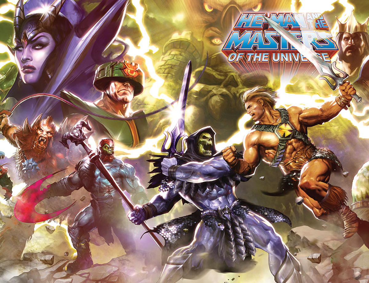 HE MAN AND THE MASTERS OF THE UNIVERSE #6