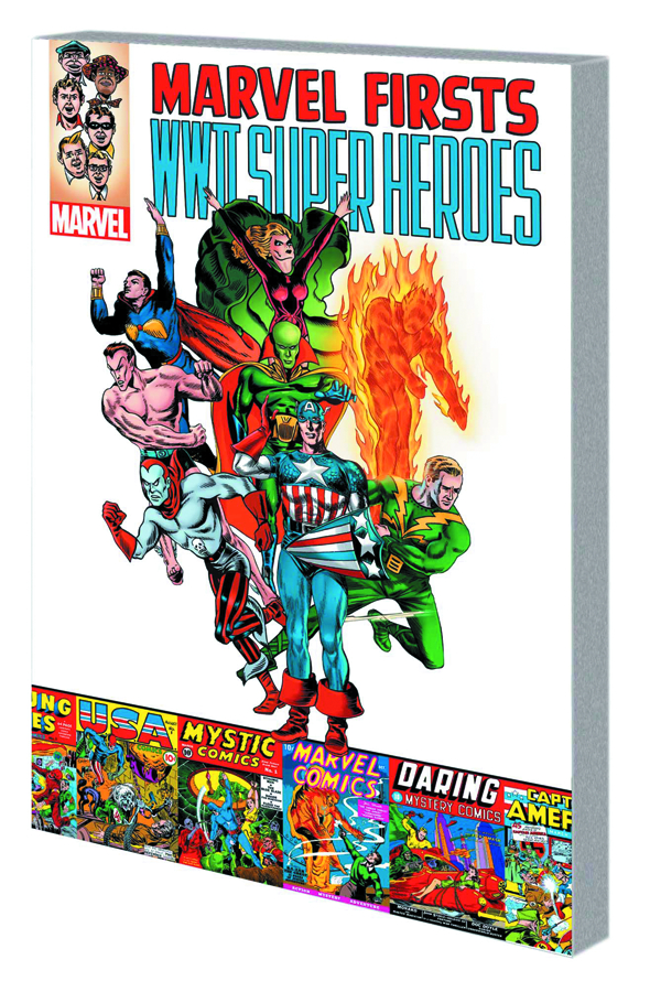 MARVEL FIRSTS TP WWII SUPER HEROES