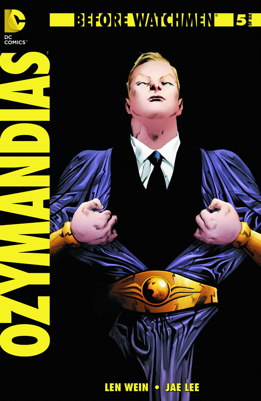 BEFORE WATCHMEN OZYMANDIAS #5 (OF 6)