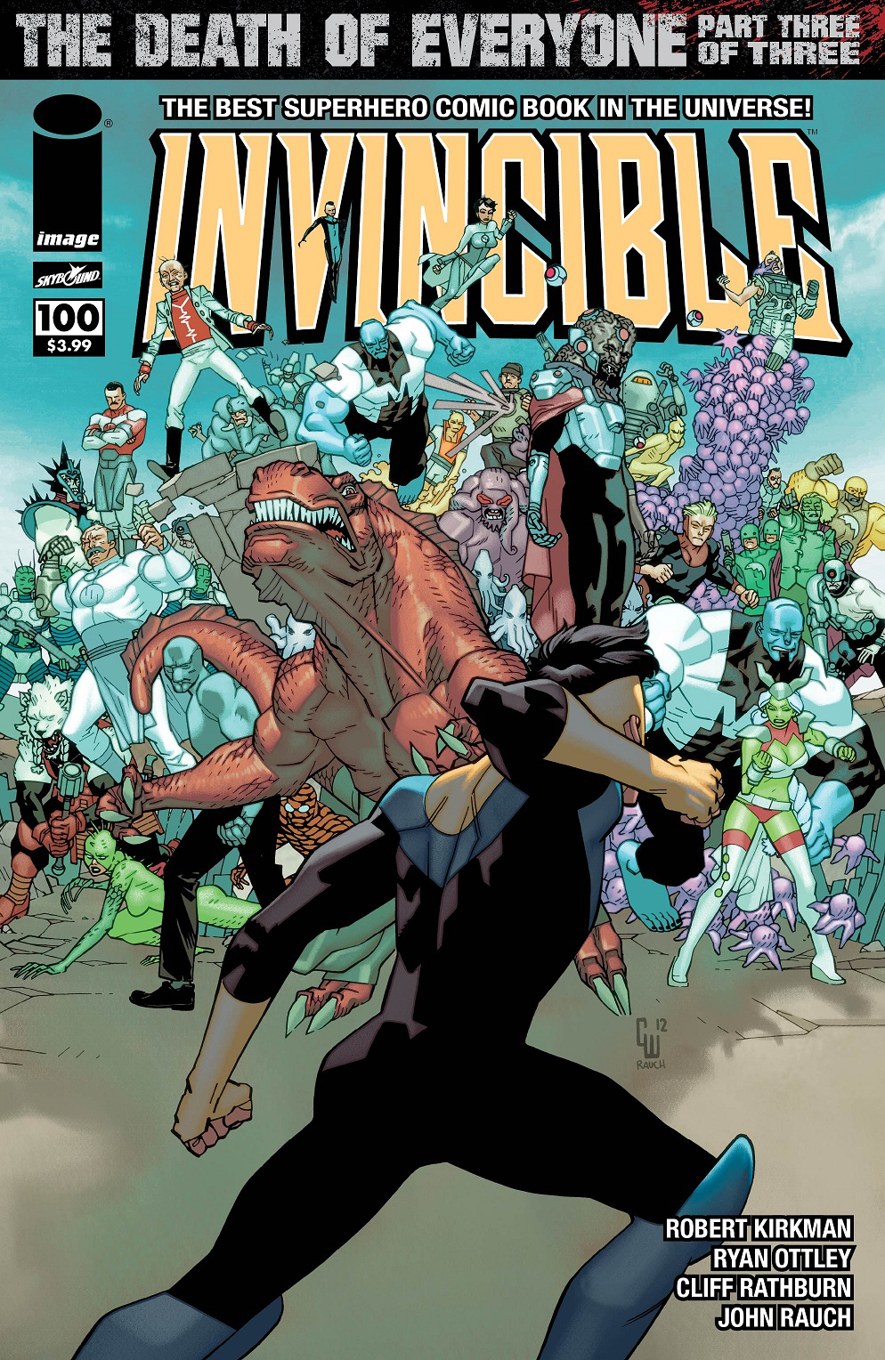 INVINCIBLE #100 CVR B WALKER