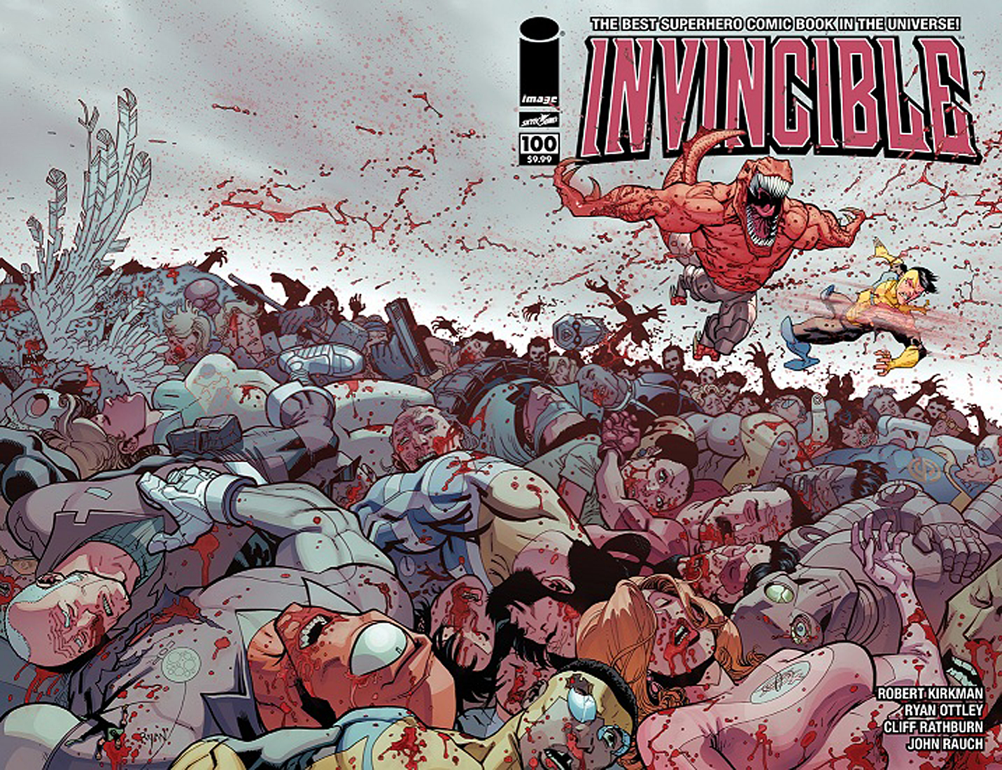 INVINCIBLE #100 CHROMIUM ED