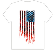WALKING DEAD T/S FLAG LG
