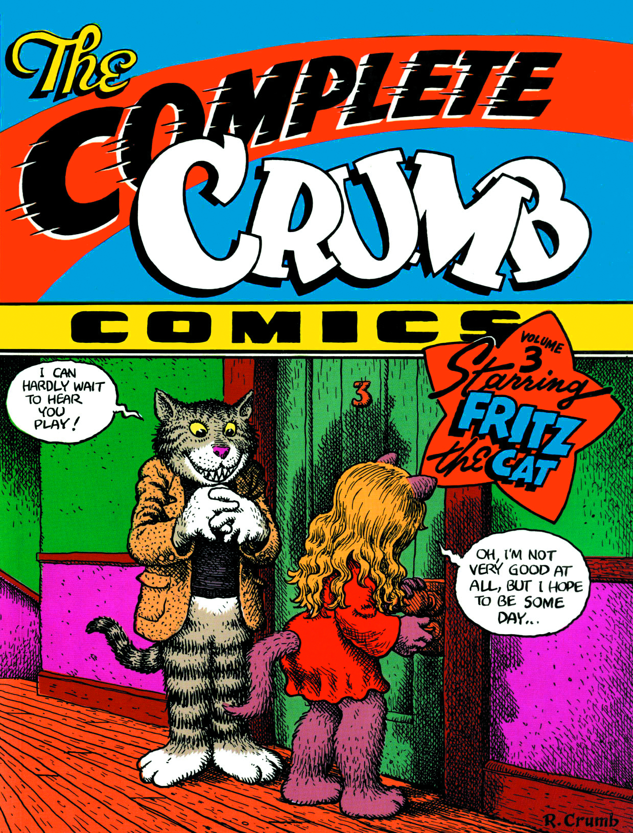 COMPLETE CRUMB COMICS TP VOL 03 FRITZ CAT