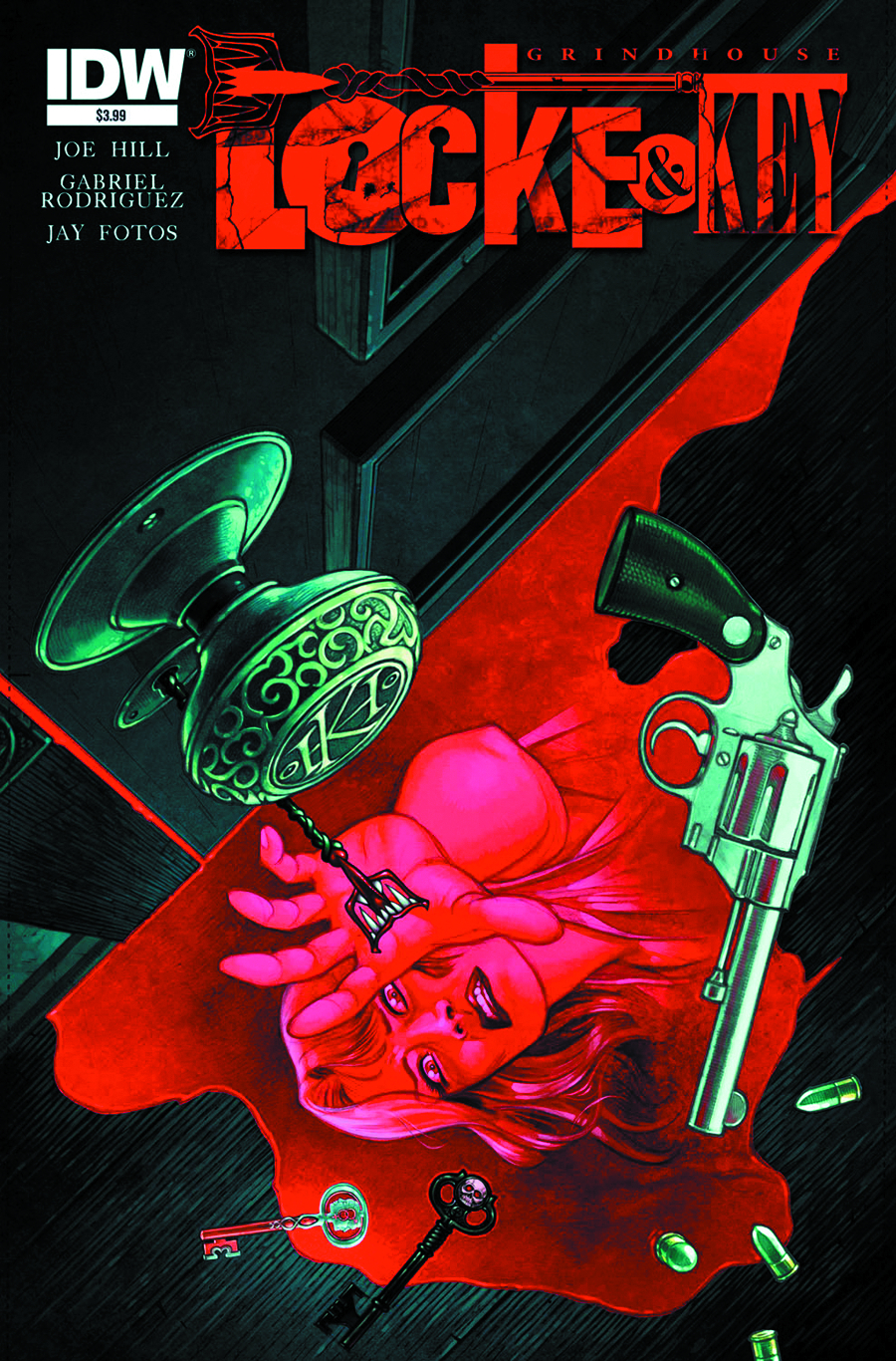 LOCKE & KEY GRINDHOUSE ONE SHOT 2ND PTG