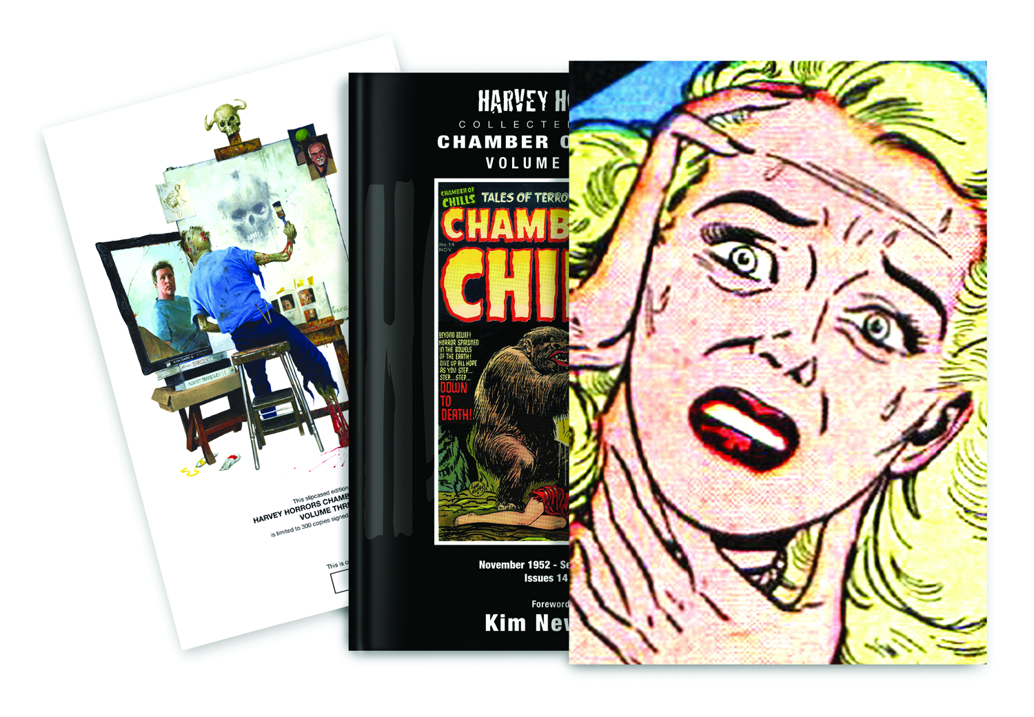 HARVEY HORRORS CHAMBER OF CHILLS SLIPCASE ED VOL 03
