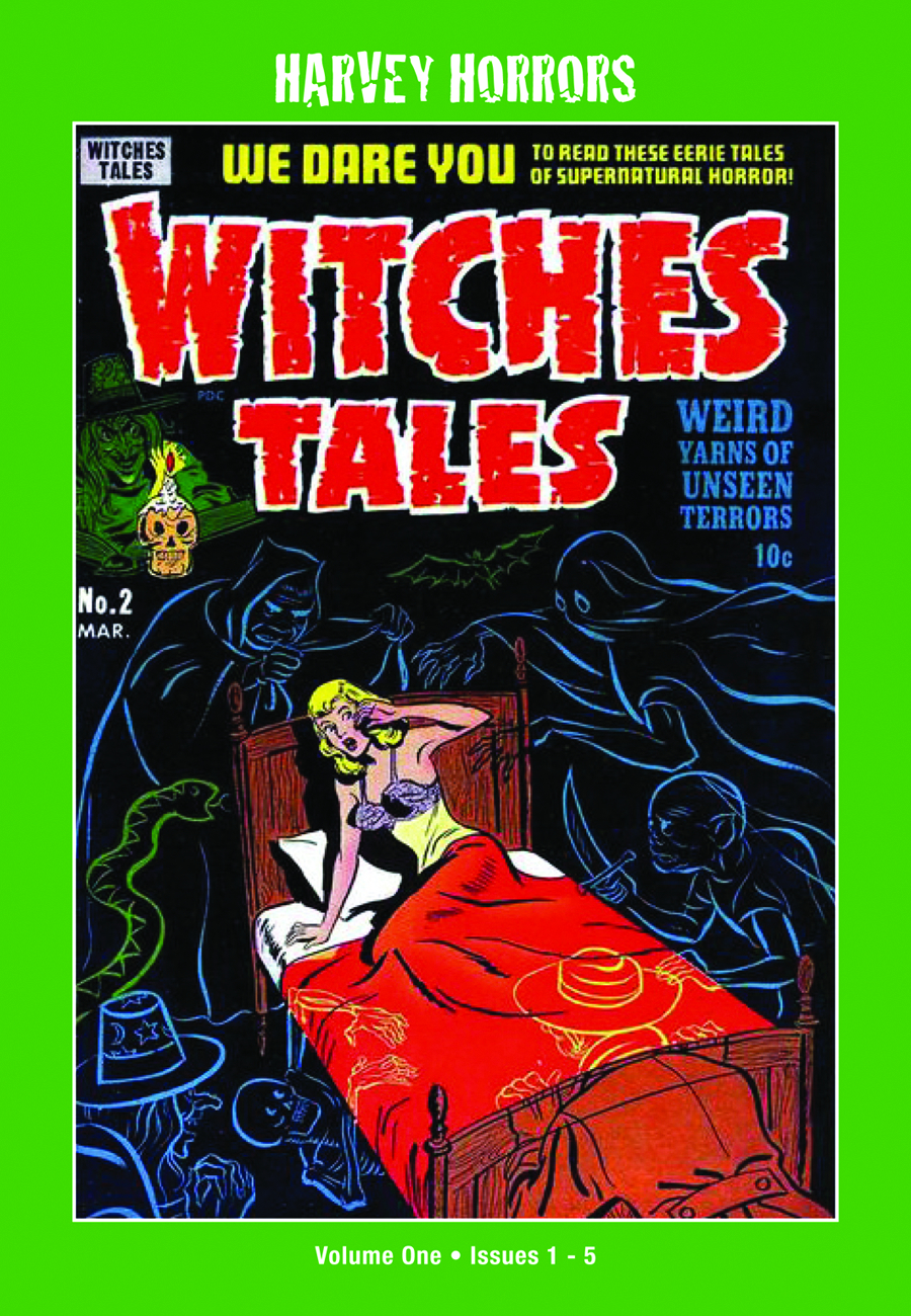 HARVEY HORRORS WITCHES TALES SOFTIE TP VOL 01