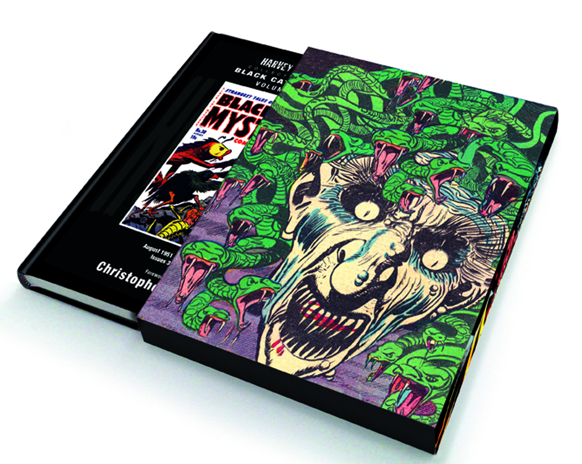 HARVEY HORRORS BLACK CAT MYSTERY SLIPCASE ED VOL 01