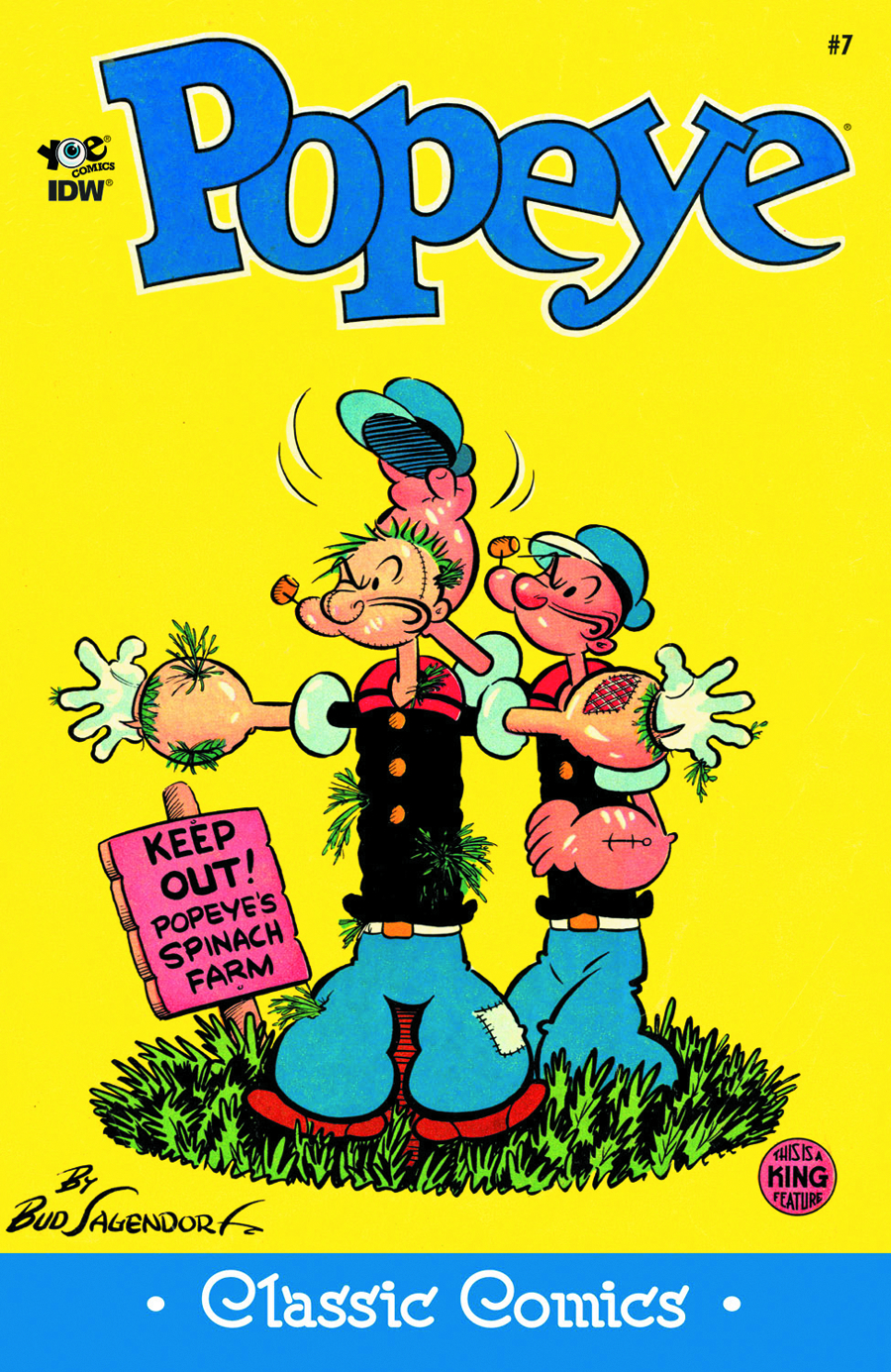 POPEYE CLASSICS ONGOING #7