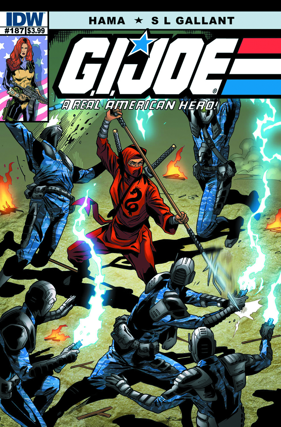 GI JOE A REAL AMERICAN HERO #187