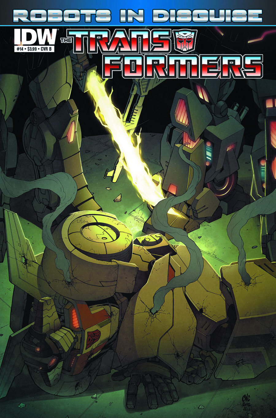 TRANSFORMERS ROBOTS IN DISGUISE #14