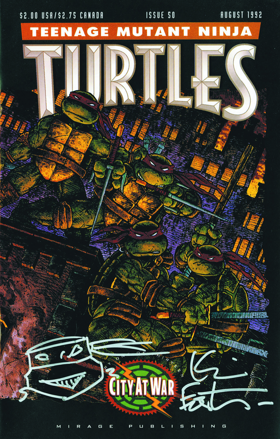 TMNT #50 TREASURY ED