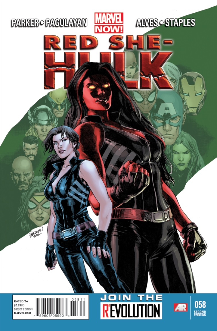 RED SHE-HULK #58 2ND PTG ALVES VAR NOW