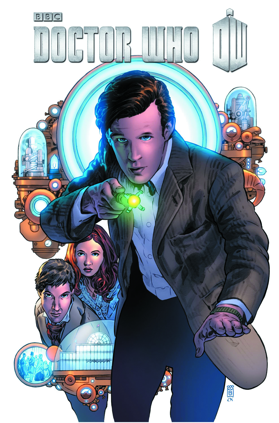 DOCTOR WHO 3 TP VOL 01 HYPOTHETICAL GENTLEMAN