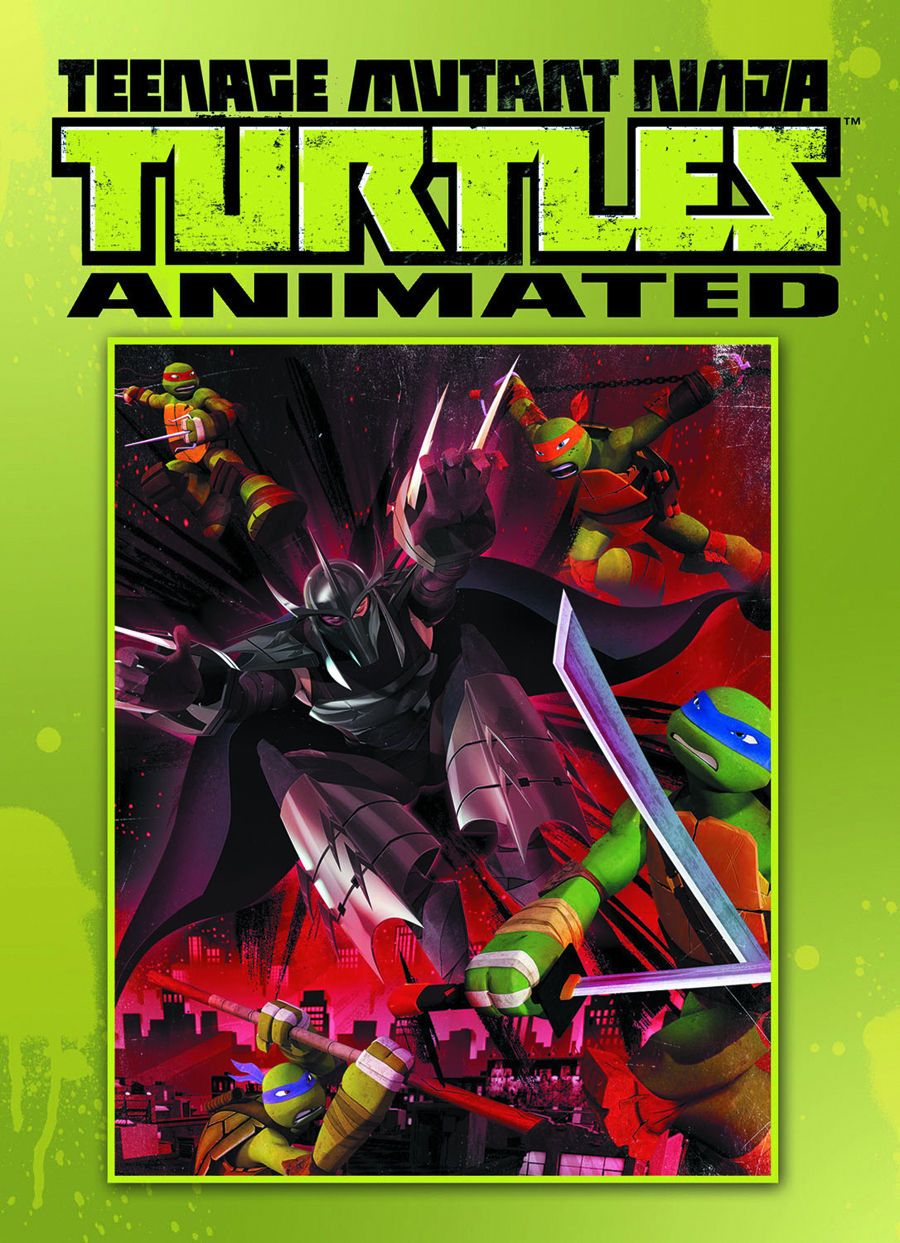TMNT ANIMATED TP VOL 01
