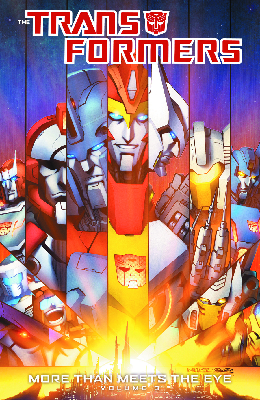 TRANSFORMERS MORE THAN MEETS THE EYE TP VOL 03