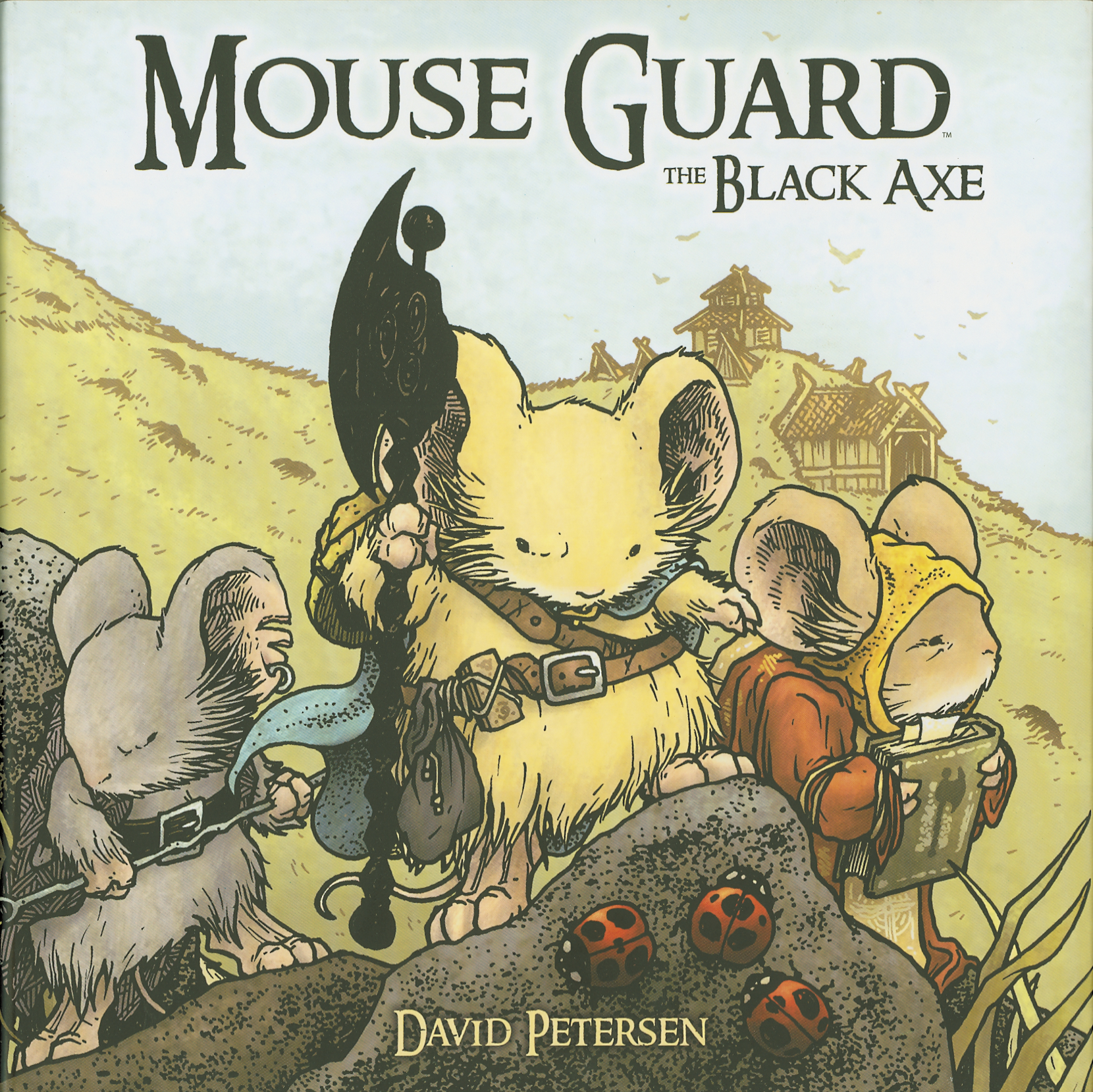 (USE DEC138299) MOUSE GUARD HC VOL 03 BLACK AXE