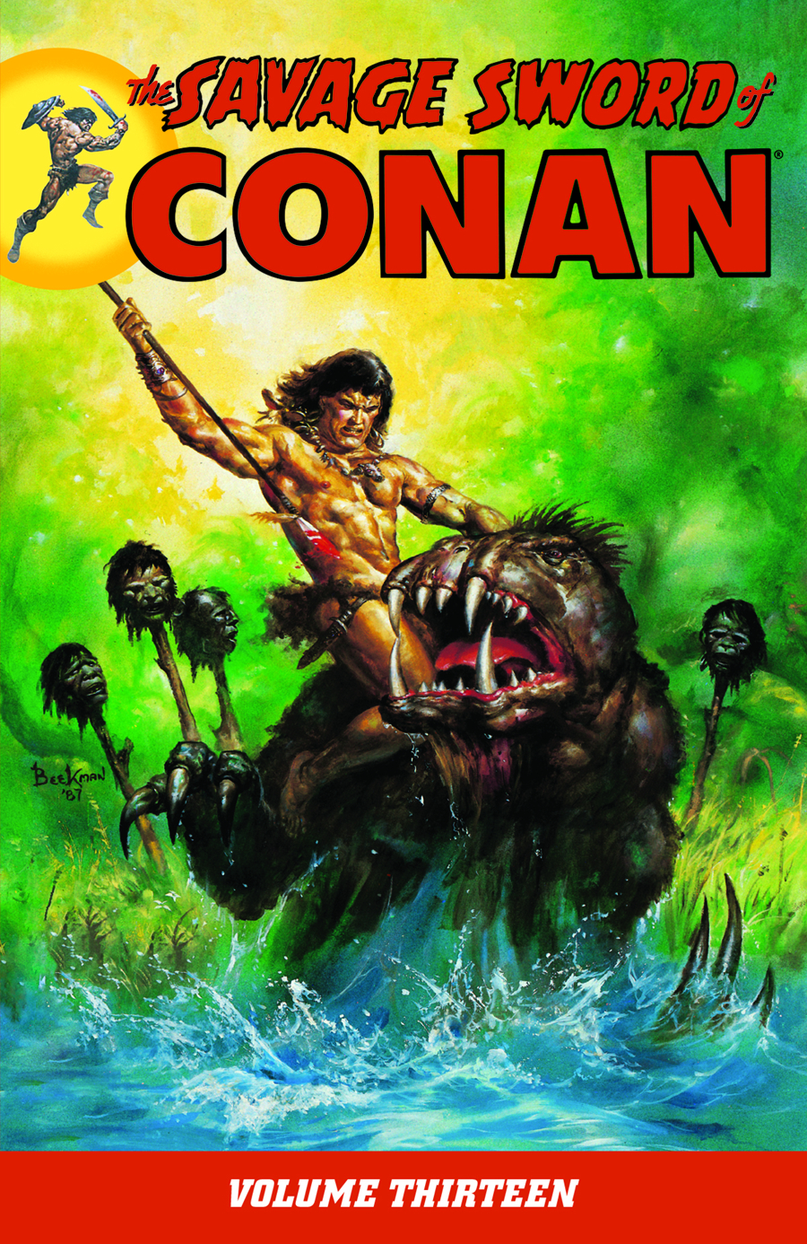 SAVAGE SWORD OF CONAN TP VOL 13