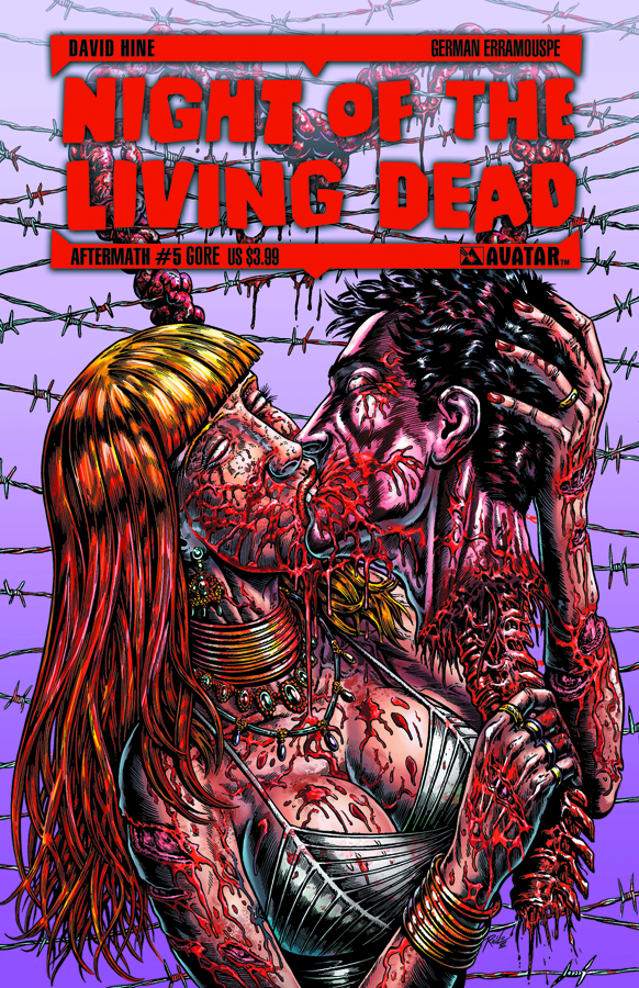 NIGHT O/T LIVING DEAD AFTERMATH #5 GORE CVR