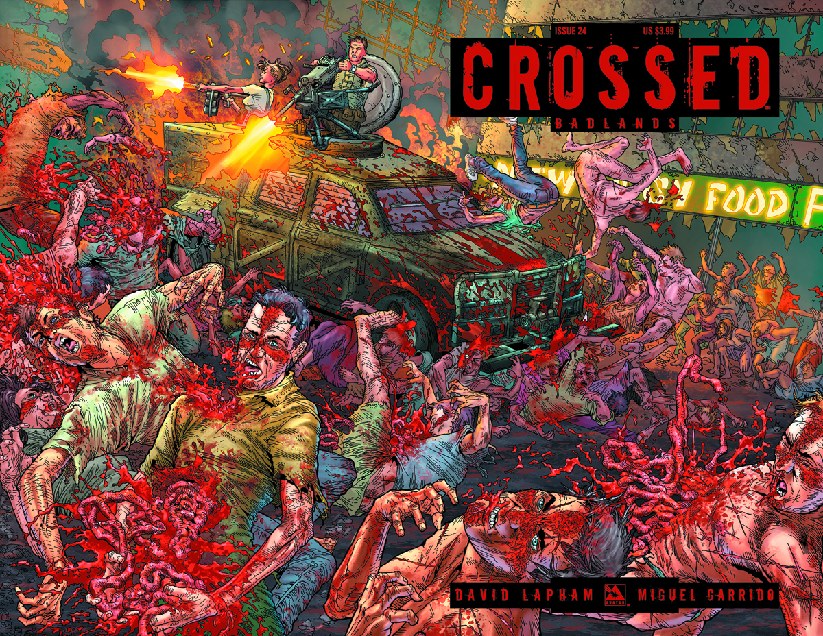 CROSSED BADLANDS #24 WRAP CVR