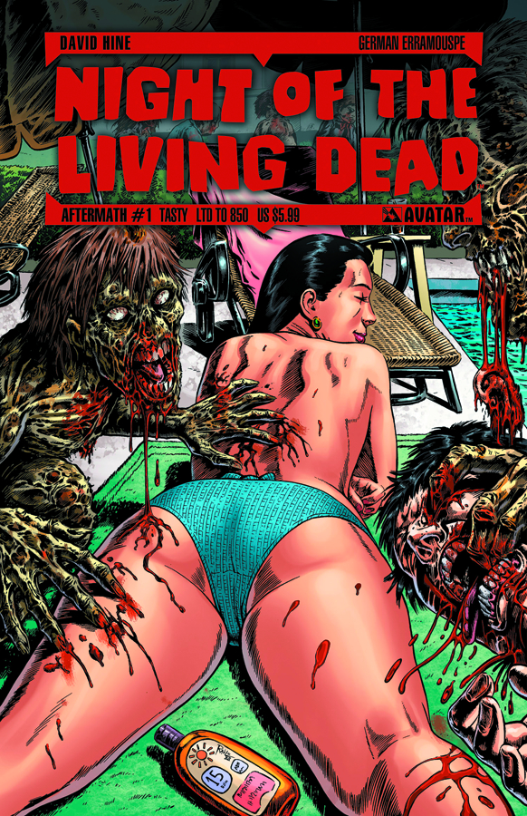 NIGHT O/T LIVING DEAD AFTERMATH #1 TASTY CVR