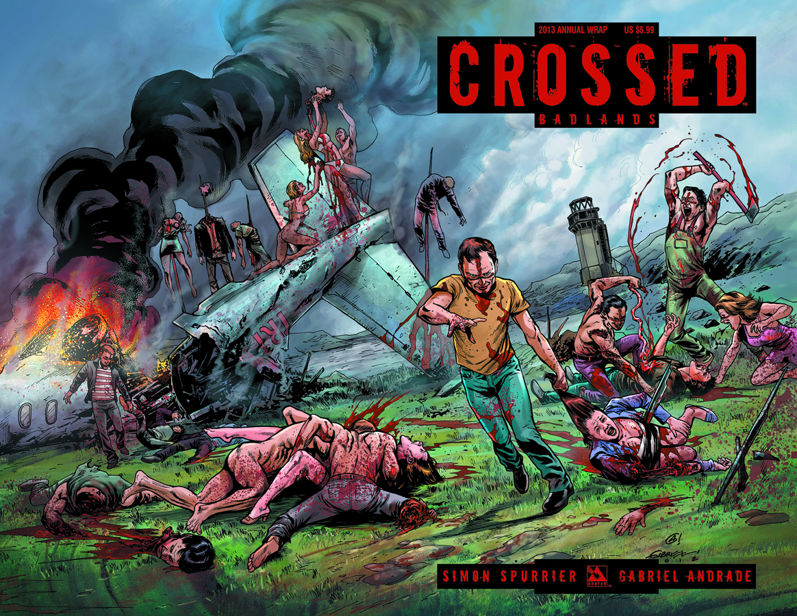 CROSSED ANNUAL 2013 WRAP CVR