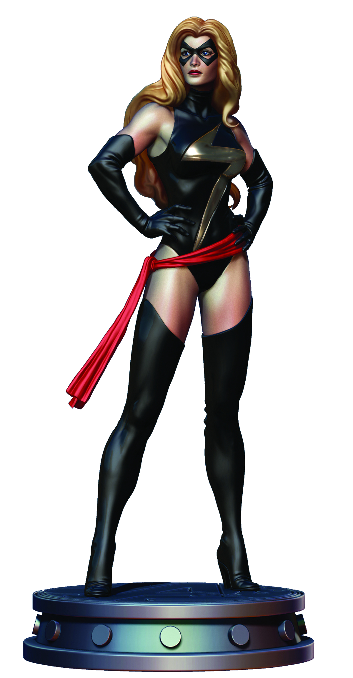 MS MARVEL WARBIRD STATUE