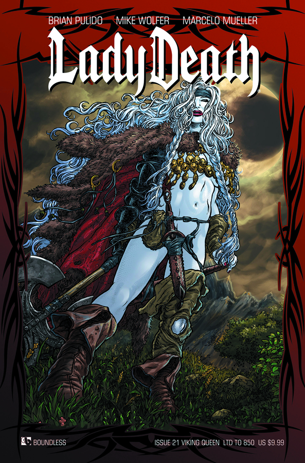 LADY DEATH (ONGOING) #21 VIKING QUEEN CVR