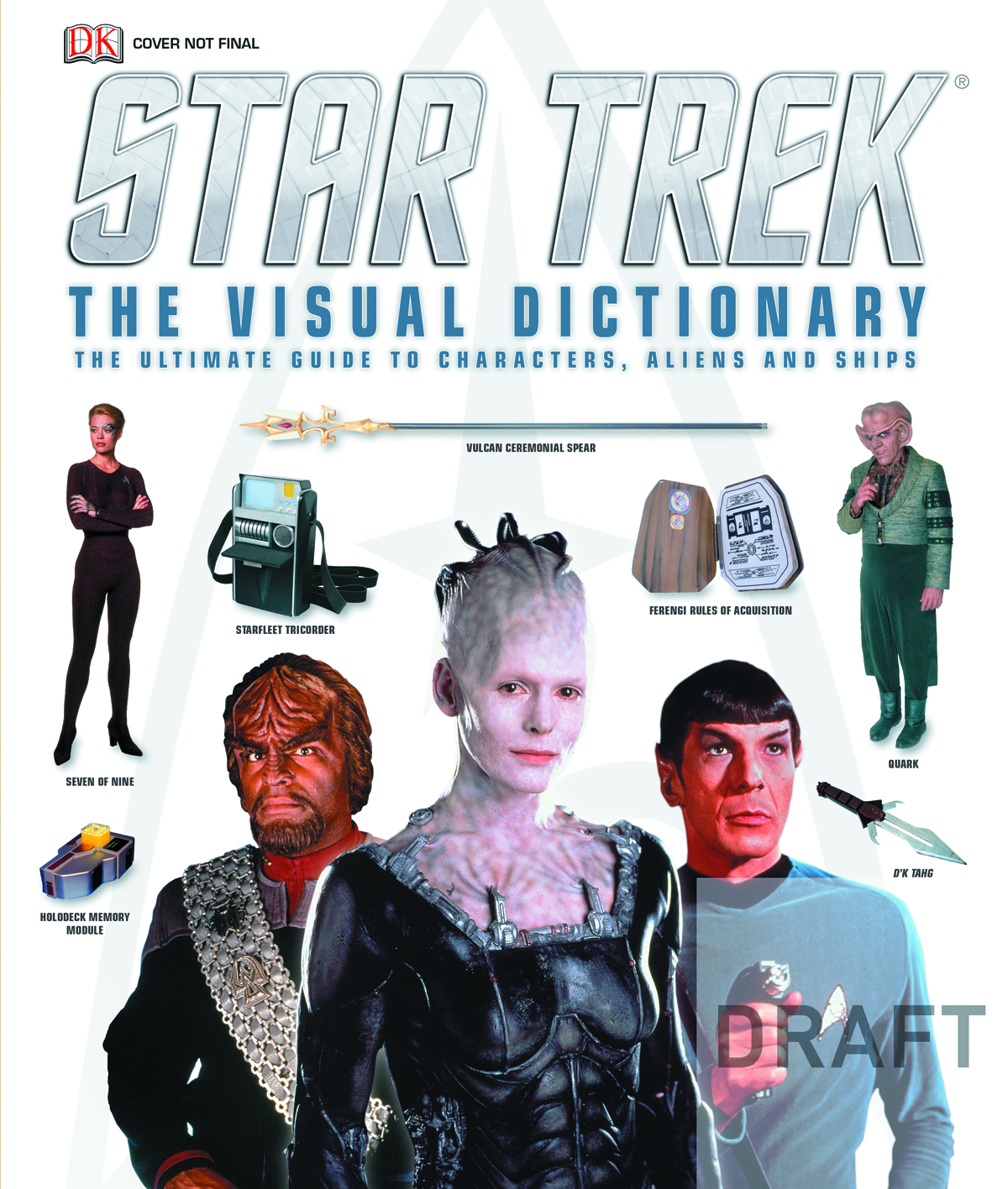 STAR TREK VISUAL DICTIONARY HC