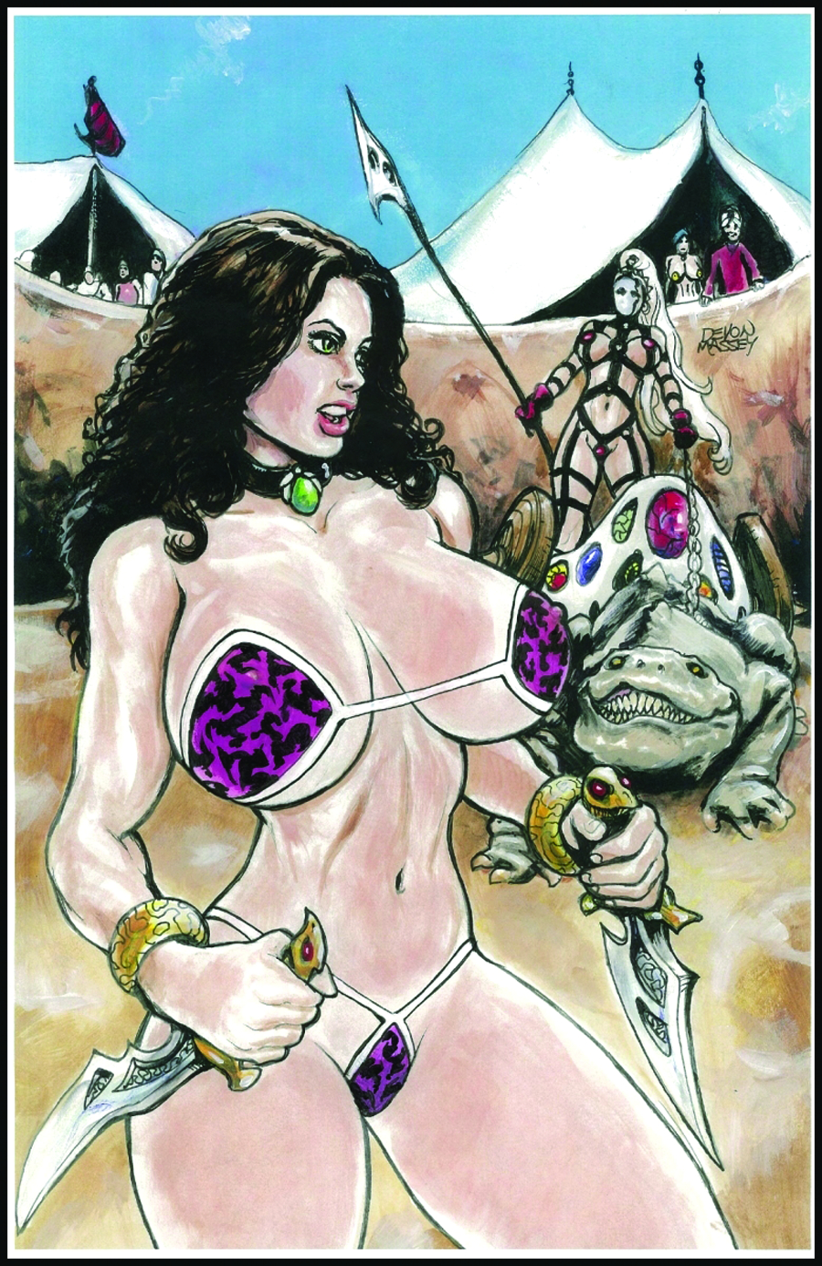 CAVEWOMAN OASIS #1 (OF 2)