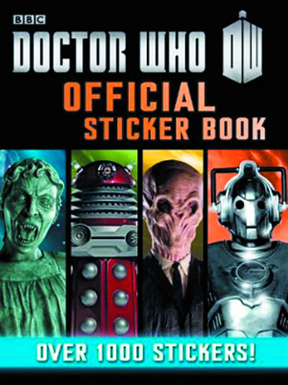 DOCTOR WHO OFFICIAL STICKER BOOK SC