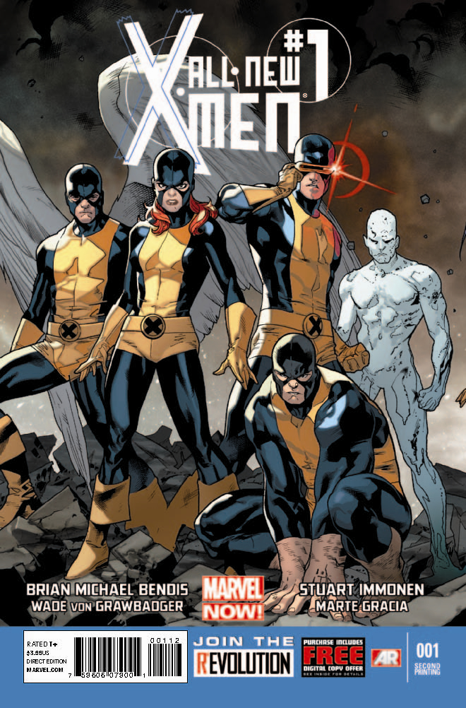 ALL NEW X-MEN #1 2ND PTG IMMONEN VAR NOW