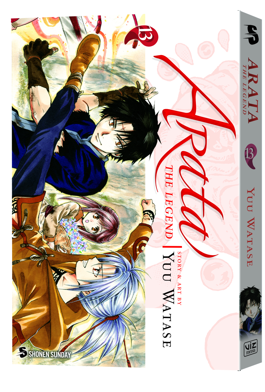 ARATA THE LEGEND GN VOL 13