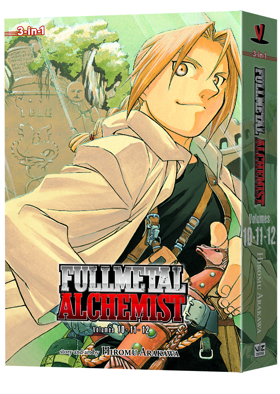 FULLMETAL ALCHEMIST 3IN1 TP VOL 04