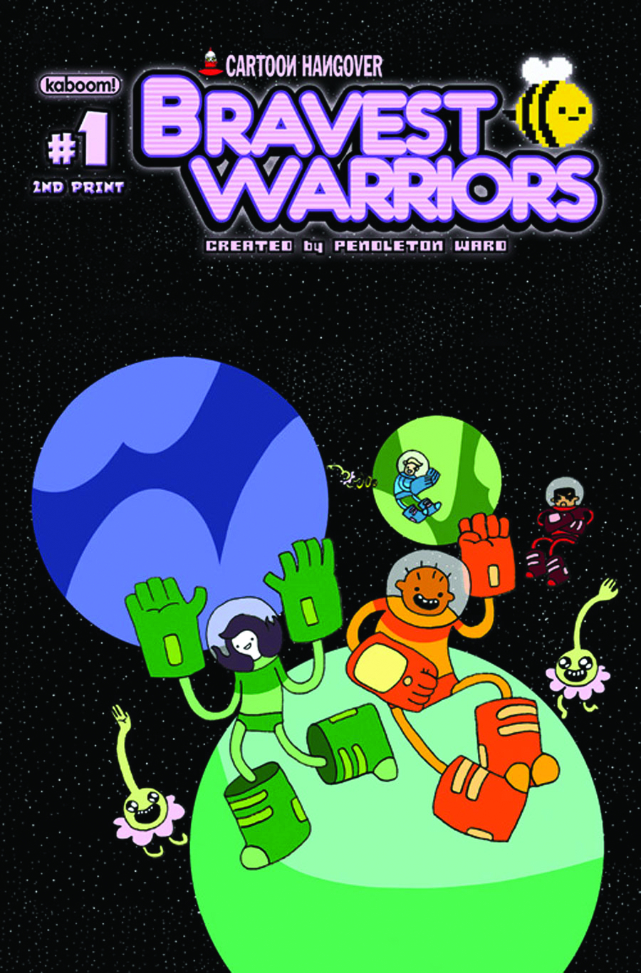 (USE SEP128334) BRAVEST WARRIORS #1 2ND PTG