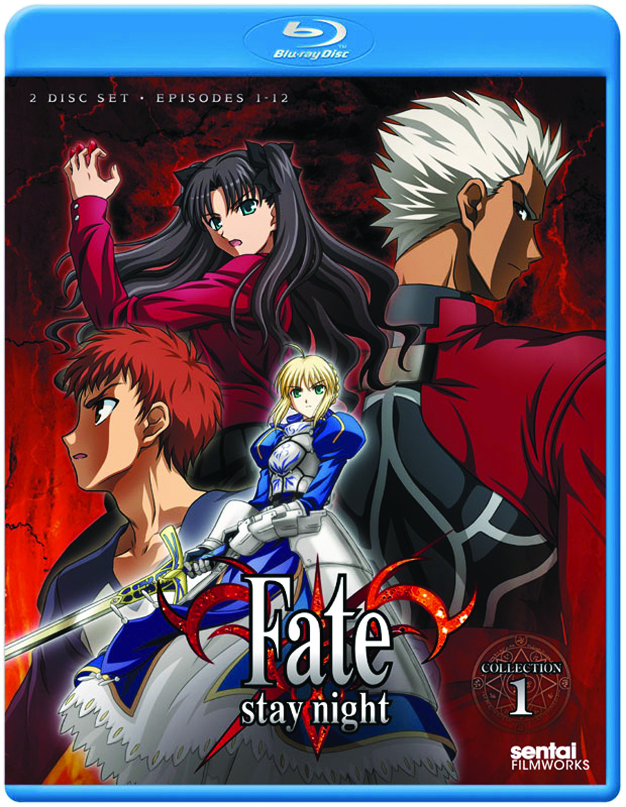 FATE/STAY NIGHT TV BD COLL 01