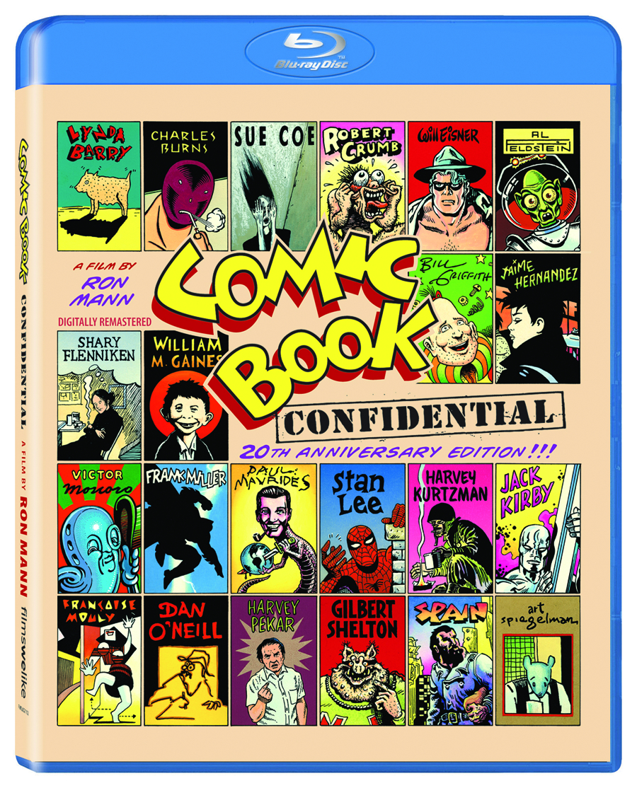 COMIC BOOK CONFIDENTIAL BD