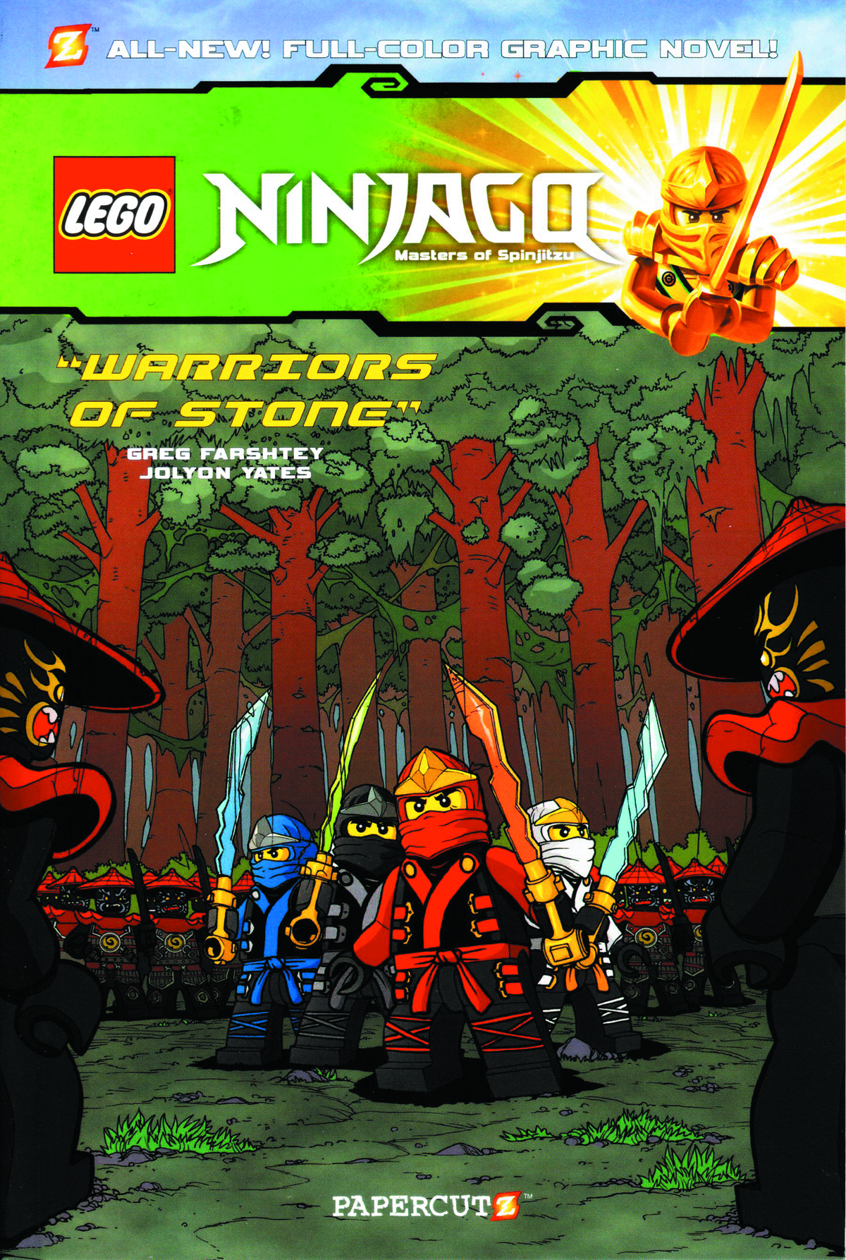 NINJAGO GN VOL 06 WARRIORS OF STONE