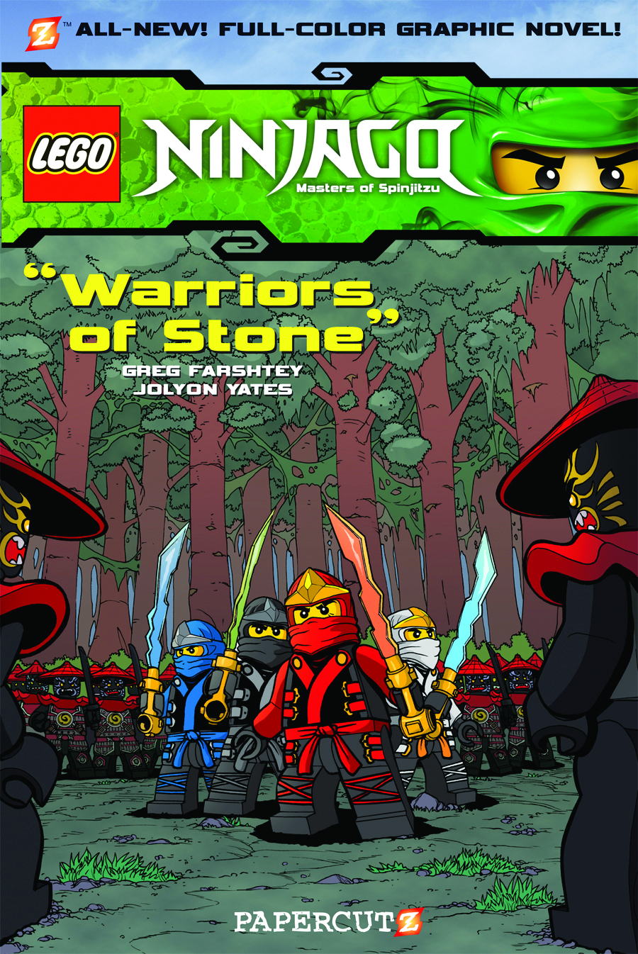 NINJAGO HC VOL 06 WARRIORS OF STONE