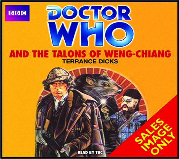 DOCTOR WHO & TALONS OF WENG-CHIANG AUDIO CD SET