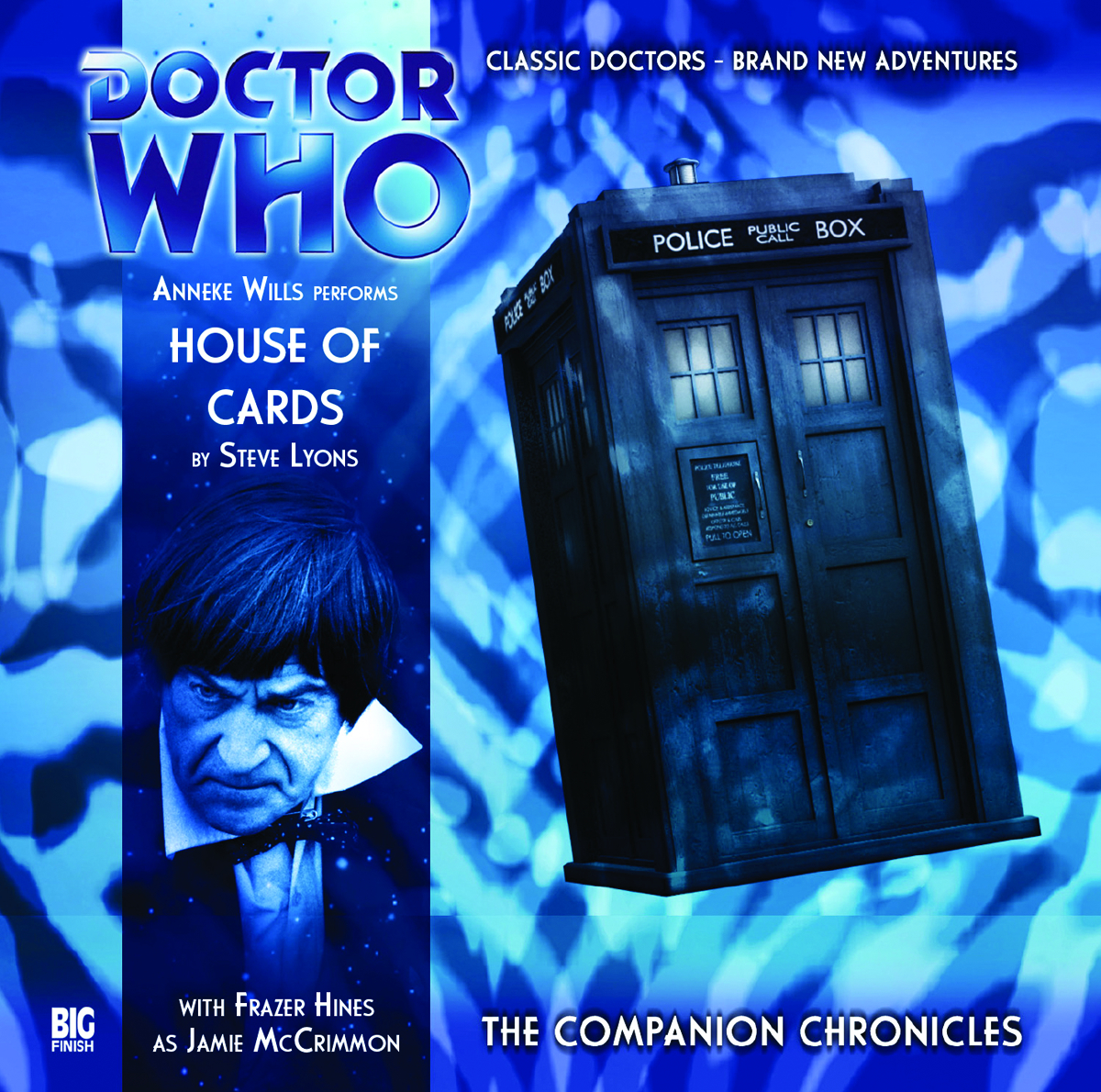 DOCTOR WHO COMPANION CHRON HOUSE OF CARDS AUDIO CD