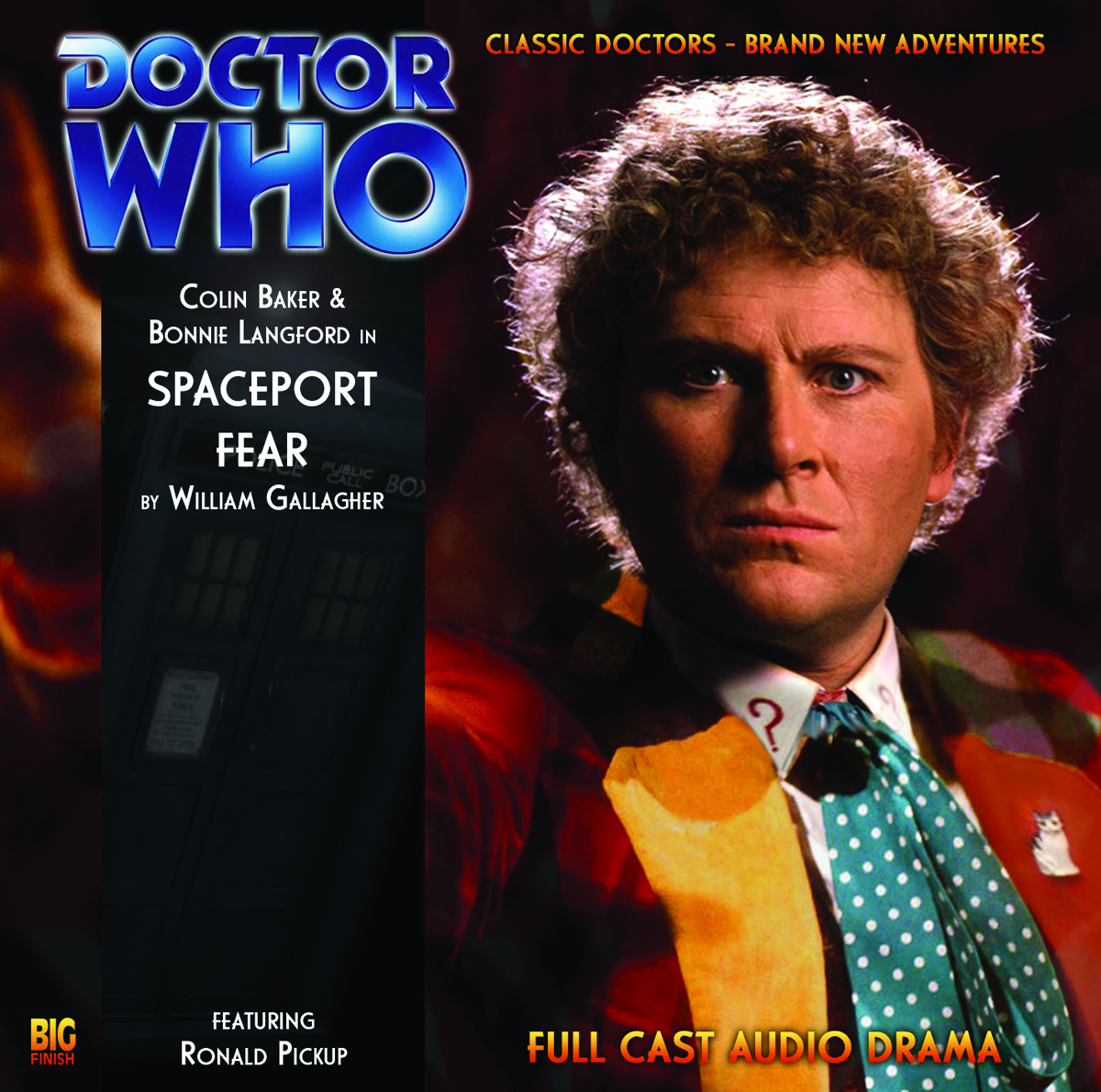 DOCTOR WHO SPACEPORT FEAR AUDIO CD