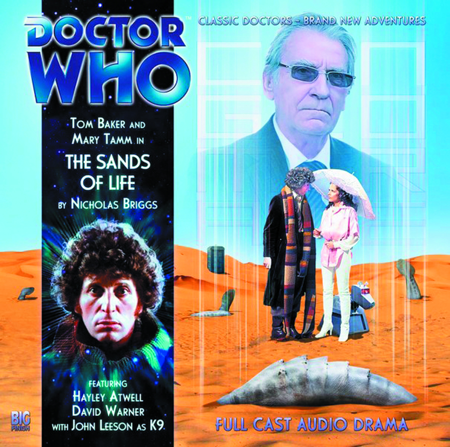 DOCTOR WHO SANDS OF LIFE AUDIO CD