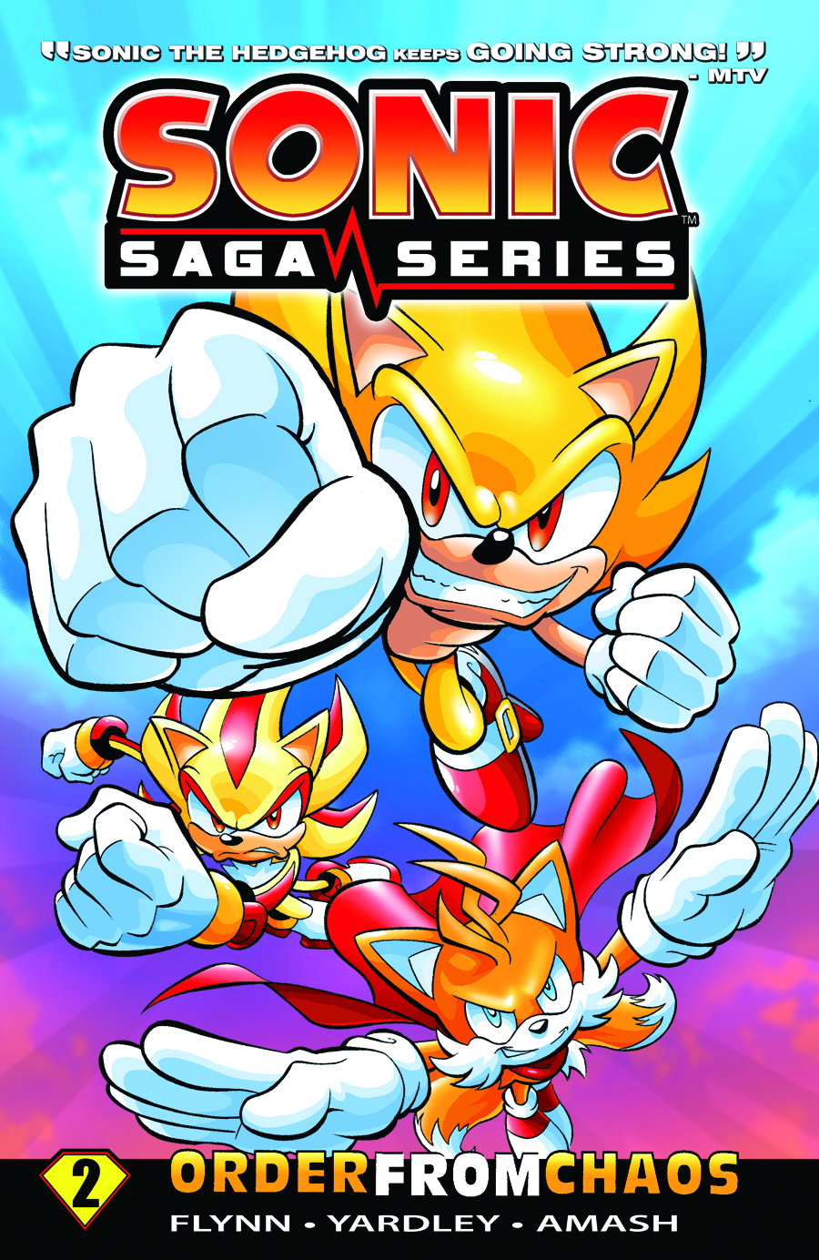 SONIC SAGA TP VOL 02 ORDER FROM CHAOS