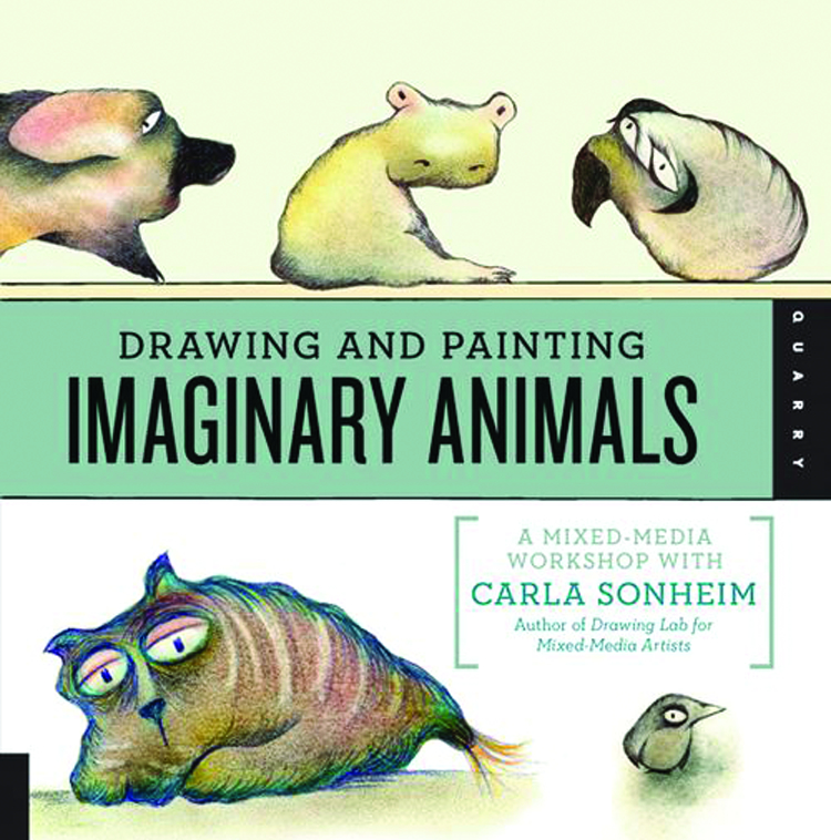 DRAWING & PAINTING IMAGINARY ANIMALS SC