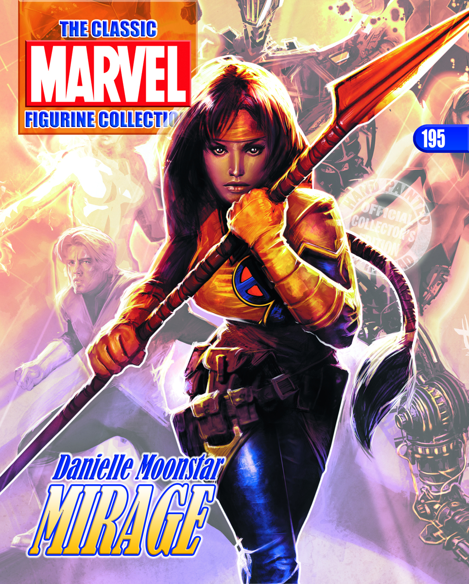 CLASSIC MARVEL FIG COLL MAG #195 MIRAGE