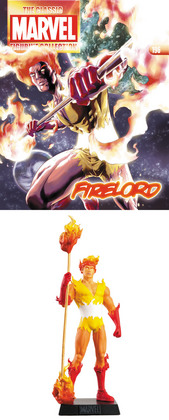 CLASSIC MARVEL FIG COLL MAG #196 FIRELORD