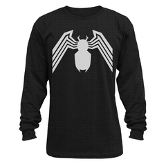 VENOM SYMBOL PX BLACK THERMAL SHIRT LG