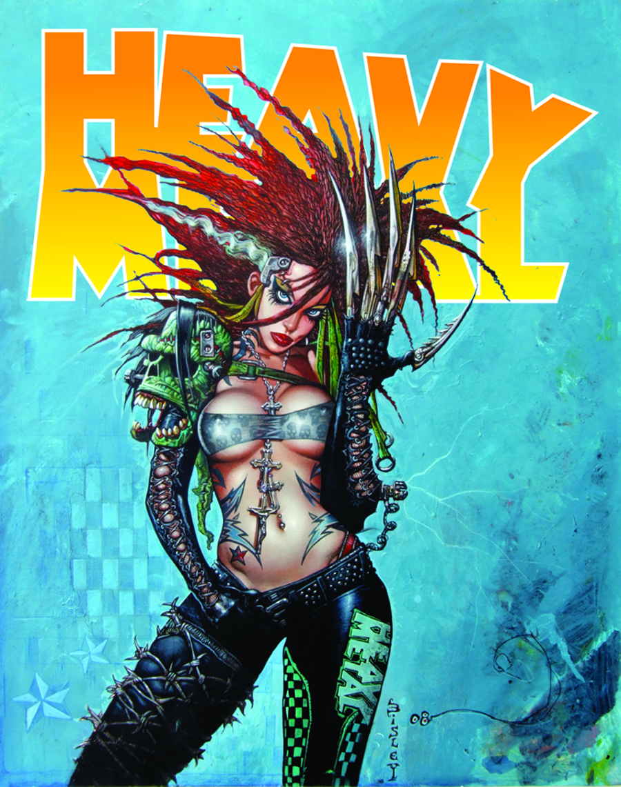 HEAVY METAL #261 FEB 2013 NEWSSTAND ED